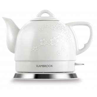 Kambrook Ceramic Electric Teapot  Different to the usual stainless steel. Great traditional shape too