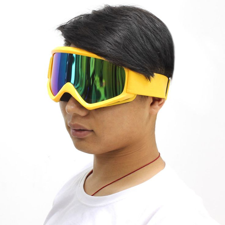 New Fashion Glasses Goggles For Suzuki Sport Motorcycle Biker Day Riding Yellow  #Unbranded #Sport