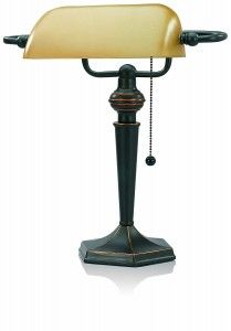 8. V Light Traditional Desk Lamp