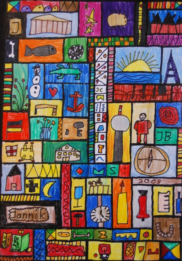 klasse 1 3 kunstunterricht grundschule anke kremer anna 1 pinterest. Black Bedroom Furniture Sets. Home Design Ideas