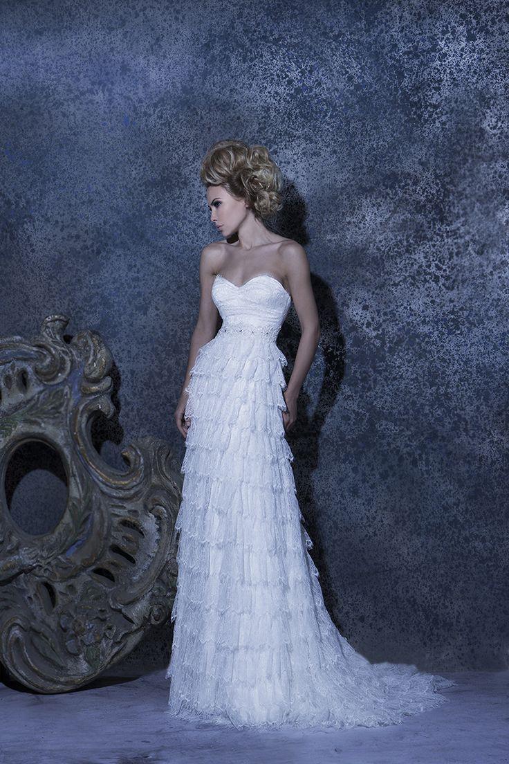 Our //Natalie// #weddingdress #romantic #strapless