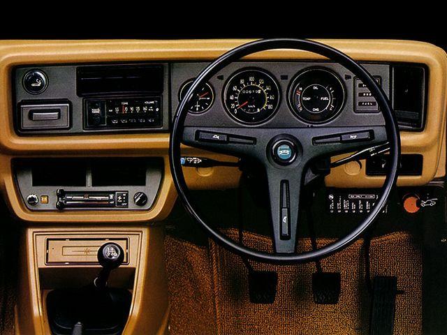 "carinteriors: ""1974 Toyota Corolla """