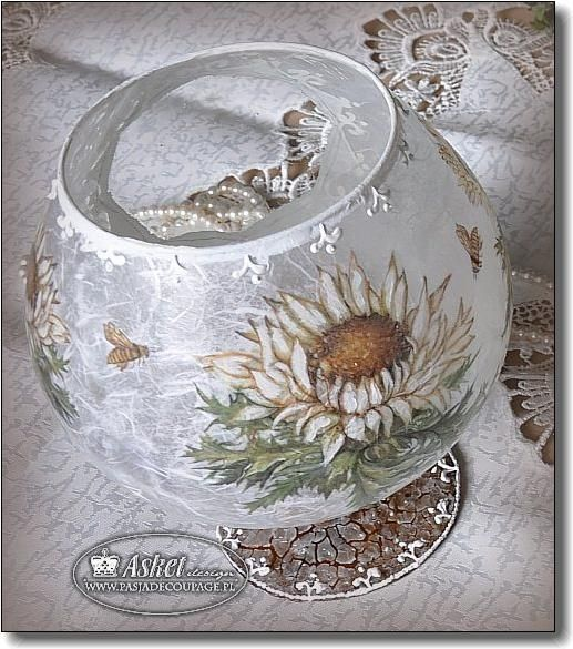 194 best images about hobby decoupage on pinterest With best brand of paint for kitchen cabinets with decoupage glass candle holders