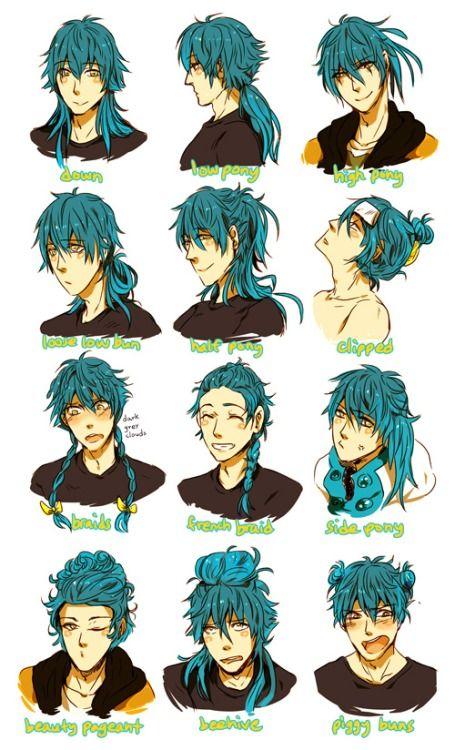 aoba - hair styles - dramatical murder