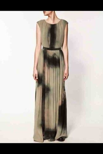 Zara Tie Dye Maxi Dress July 2017