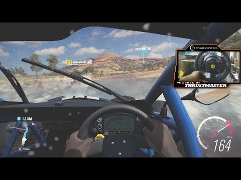 Forza Horizon 3 With Thrustmaster TX Racing Wheel WheelCam Lets Play Ep.2 - YouTube