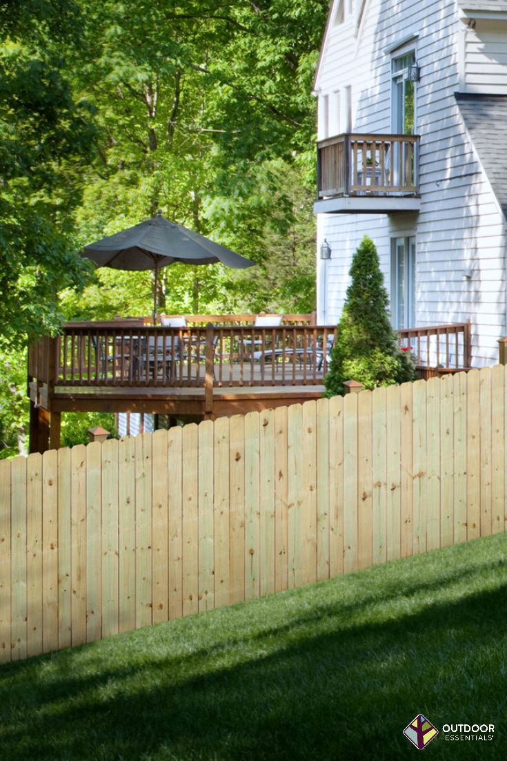 how to build a wood fence on a slope in 2020 building a on inexpensive way to build a wood privacy fence diy guide for 2020 id=95390