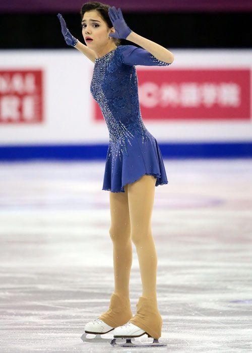 Evgenia MEDVEDEVA(RUS) Ladies Free  Photo Gallery - ISU Grand Prix Final Barcelona