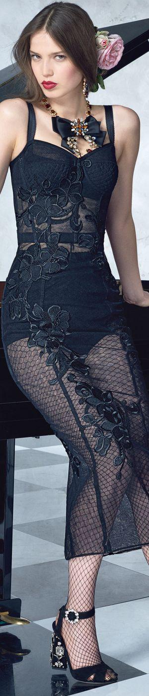 Dolce & Gabbana S / S 2017 Taniec Collection