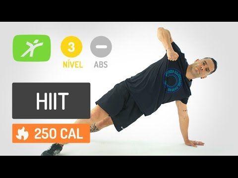 Treinamento Intervalado de Alta Intensidade Avançado - HIIT para Secar a Barriga e Definir o Corpo - YouTube