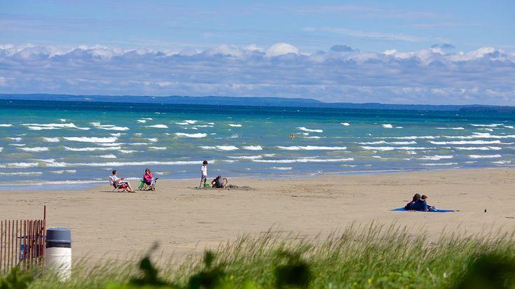 10 des plus belles plages en Ontario. Ici, Wasaga Beach Ontario.
