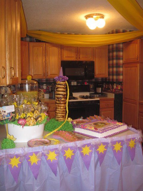 Tangled Birthday Party - decoration ideas and more!