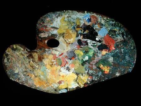 Claude Monet (1840-1926) - Artist's Palette.