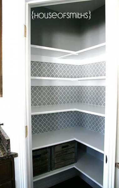 Kitchen shelves ideas pantry makeover 54  Ideas