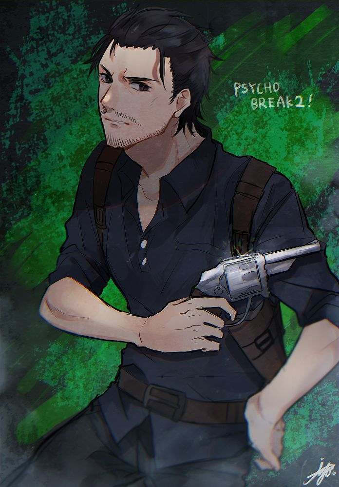 Sebastian Castellanos - The Evil Within - Image #2193413 - Zerochan Anime Image Board