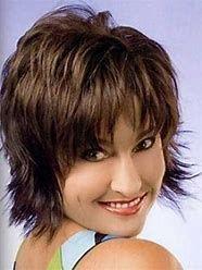 Image result for Short Shag Hairstyles for Women Over 50 Back Veiws