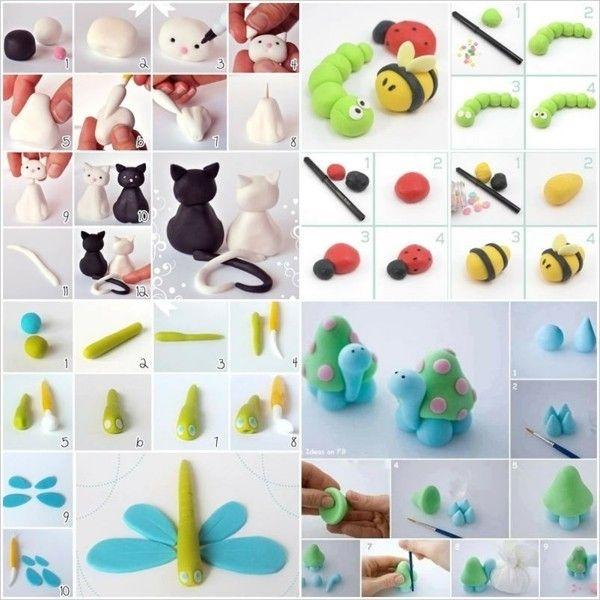 Basteln mit FIMO: 30 originelle und einfache Ideen zum Nachmachen