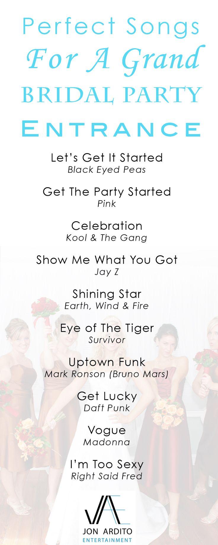 Best 25+ Bride entrance songs ideas on Pinterest   Wedding ...