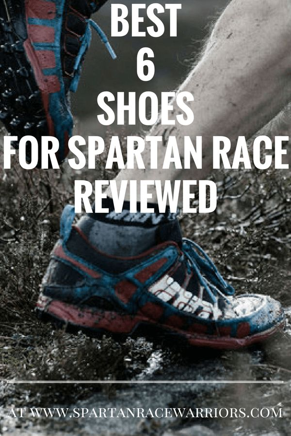 best 6 shoes for spartan race reviewed