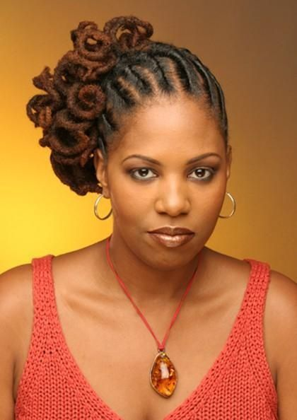 Image detail for -Look at how these locs are flat twists in the front of her hair too ...