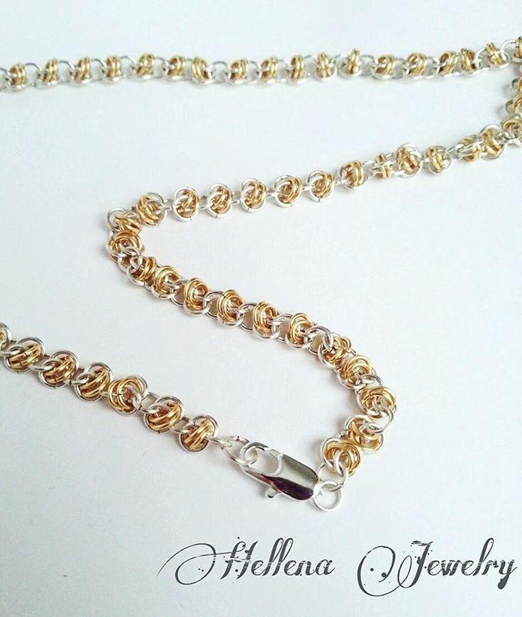 51 отметок «Нравится», 2 комментариев — 👑 БИЖУТЕРИЯ РУЧНОЙ РАБОТЫ (@hellena_jewelry) в Instagram: «Еще одно фото последней работы. #hellena_jewelry #handmade #украшения #цепь #кольчужныеукрашения…»
