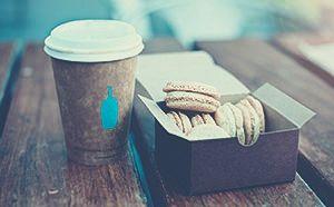 macaron+kávé