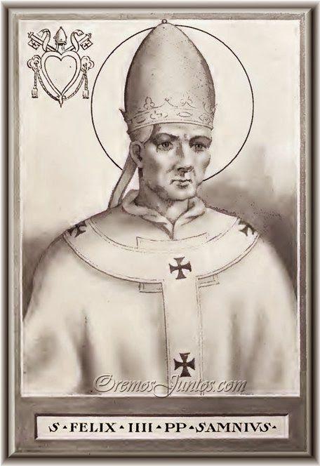 IMAGENES RELIGIOSAS: San Felix III Papa