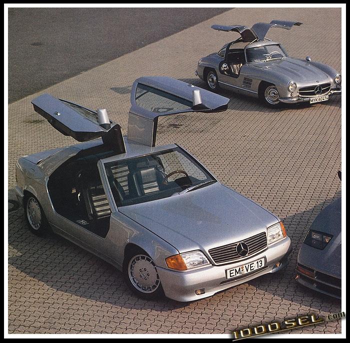 Boschert b300 mercedes benz 300ce w124 coupe gullwing for Mercedes benz 300ce problems