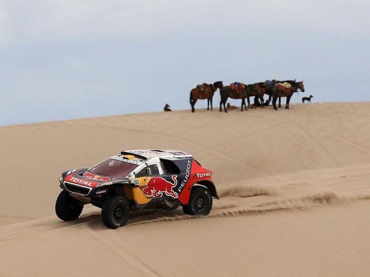 Stéphane Peterhansel ist bei der Rallye Dakar der Titelverteidiger. Foto: Nicolas Aguilera