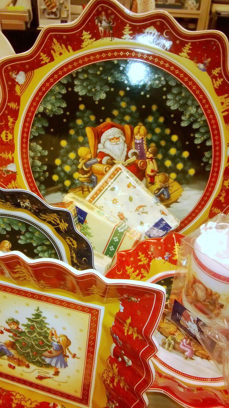 Vajilla De Navidad De Villeroy & Boch Christmas Dinnerwarechristmas  Chinaxmascutlerytablewaredisheschristmasprojects