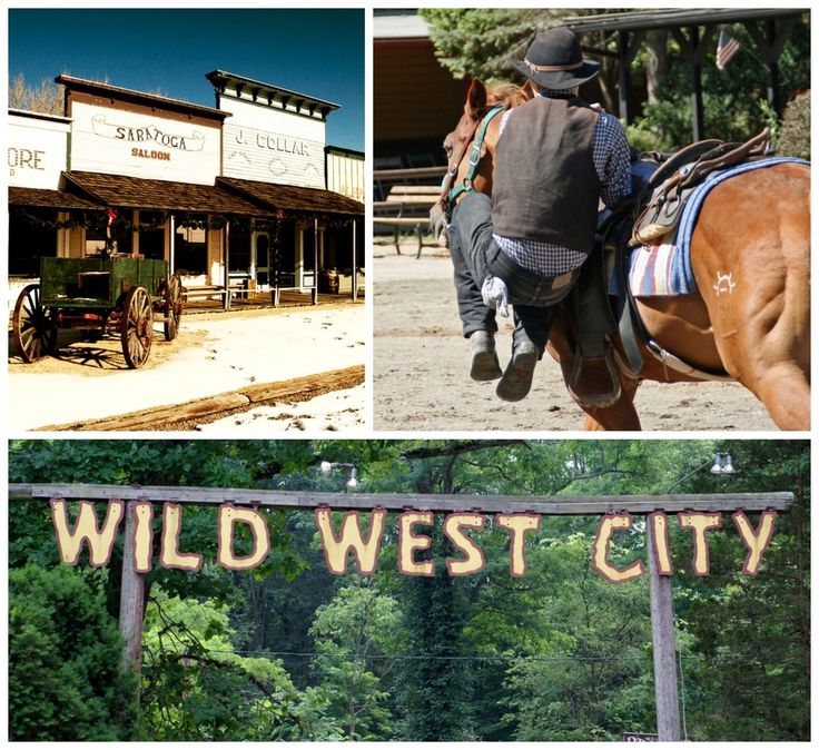 Wild West City in Netcong, New Jersey | 19 Places That Will Make Your Kid's Dreams Come True