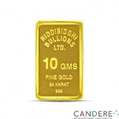 Certified pure 10 gms Gold bar with tamper proof packaging, embossed with gold purity and weight. and also get details for gold rate today ~ http://www.candere.com/10-gms-24-kt-gold-bar-999-purity.html