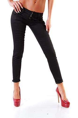 Weg sparen d0e5a 52cfb OSAB-Fashion 10039 Damen Jeans Treggings Röhrenhose Pants ...