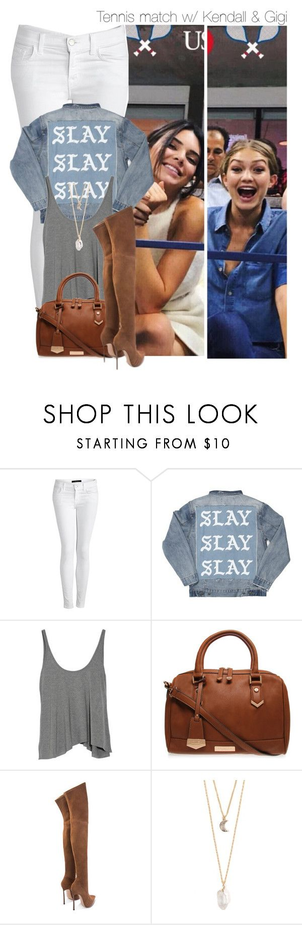 """""""- DCXIII (K.J & G.H)"""" by zarina-fashion ❤ liked on Polyvore featuring J Brand, T By Alexander Wang, Carvela Kurt Geiger and With Love From CA"""