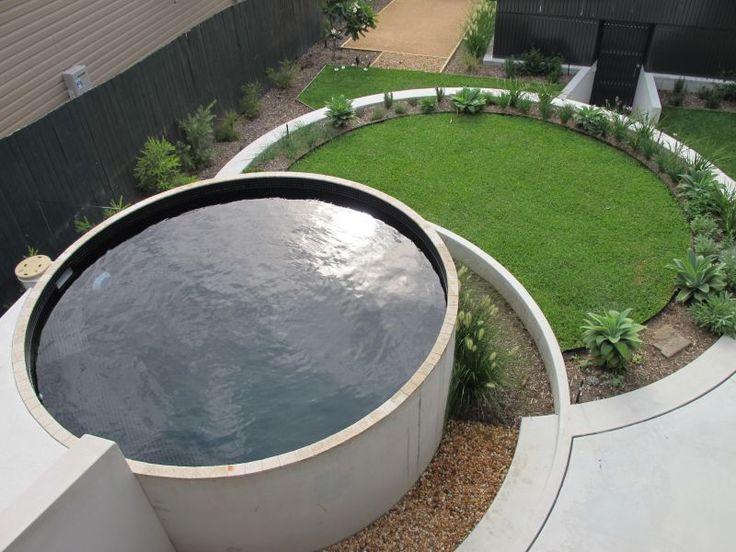 14,000ltr plunge pool - Ram Constructions