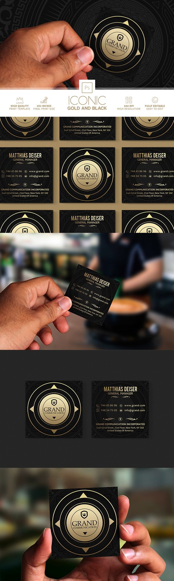 252 Best Business Cards Images On Pinterest Business Card Design