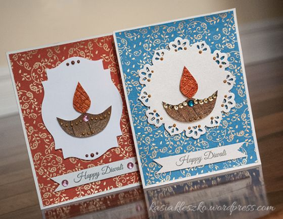 15+ Diwali card making ideas   Diwali Dhamaka