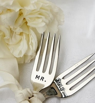 Mr. and Mrs. forks.