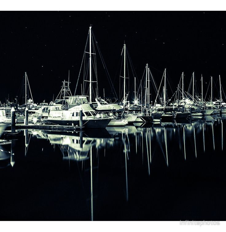 Cairns Harbour at Night