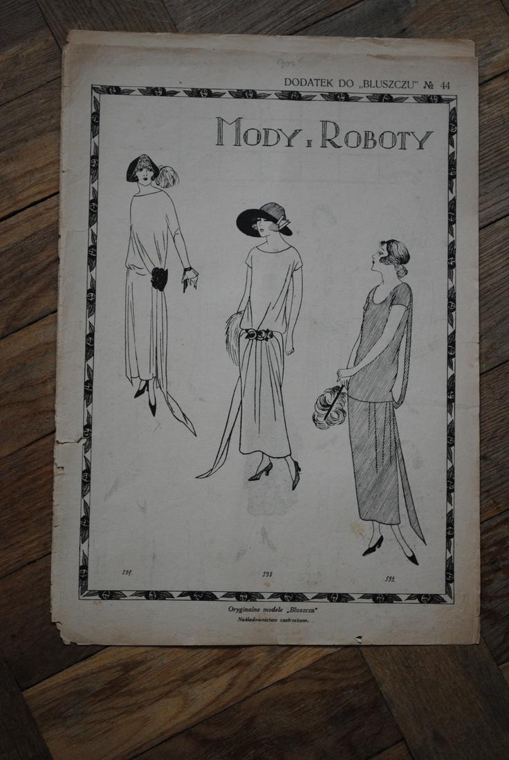 Mody i Roboty, Bluszcz 1920