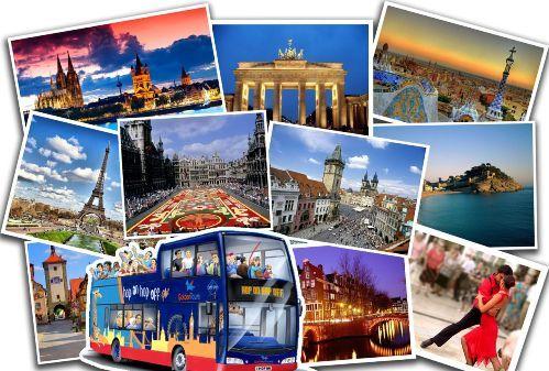 Как совершить бюджетное путешествие по Европе и за неделю объехать половину стран. Автобусный тур в Берлин, Париж, Амстердам и Венецию.