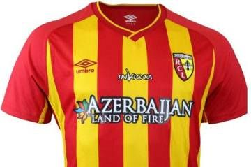 RC Lens 2014/15 Umbro Home and Away Kits