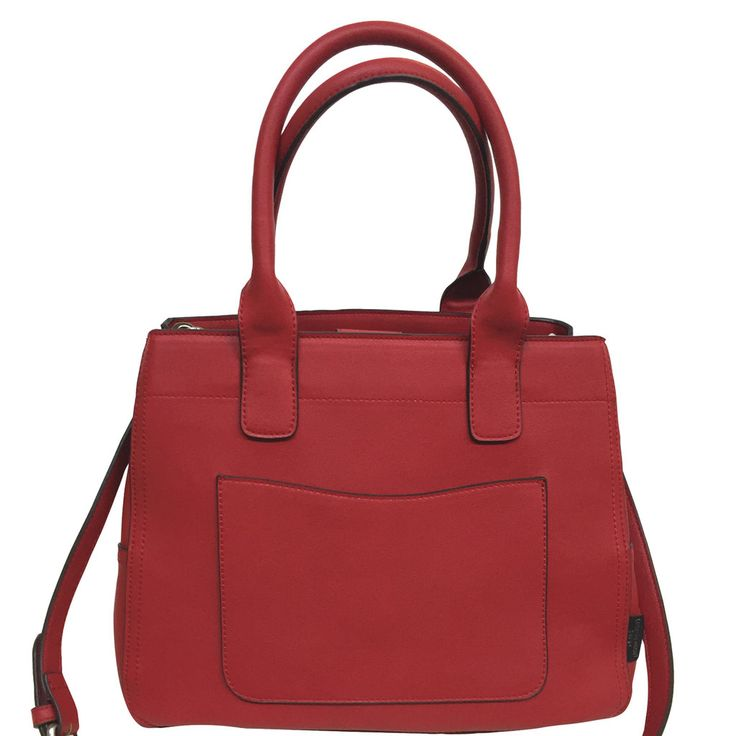 Monroe Tote - Red Leather Look