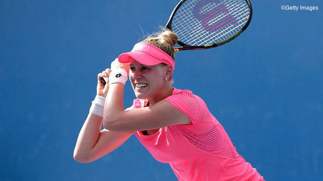 3/18/16 ITF event SFs set:  Via wtatennis.com: Unseeded American Alison  Riske knocked out top seed Daria Gavrilova to reach the semifinals of the inaugural San Antonion Open.  Anna-Lena Friedsam def. Ana Konjuh in three sets, 6-4, 4-6, 6-2.  Tsvetana Pironkova needing only 51 minutes to dispatch Donna Vekic, 6-1, 6-1. Misaki Doi - the only remaining seed in the draw -  def hot-shot American Samantha Crawford, 6-3, 6-3.