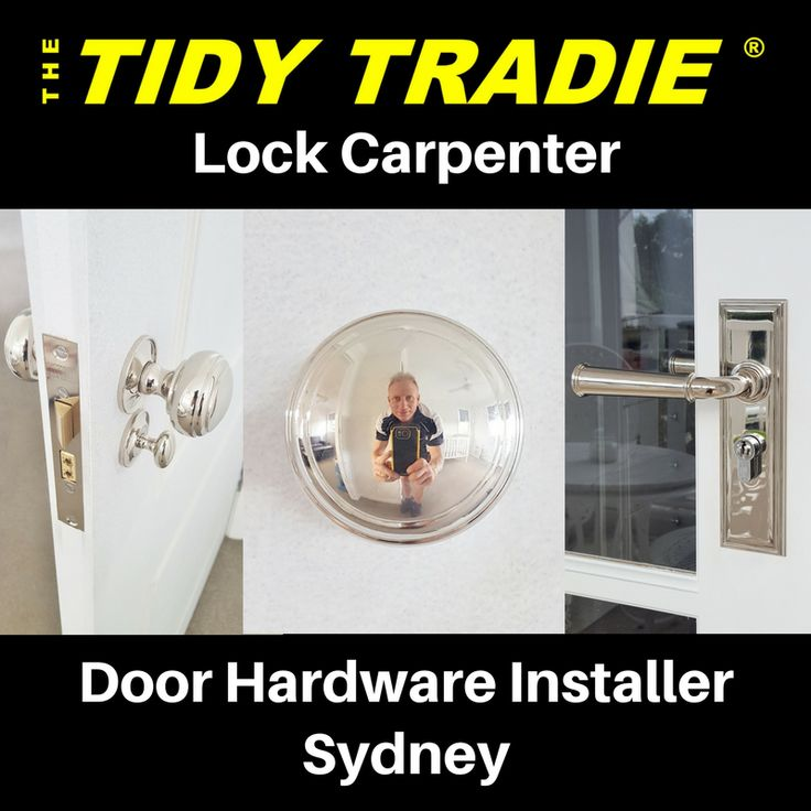 Specialty Door Hardware is very popular in Sydney and the only Specialist dedicated to installing is ..... The Tidy Tradie - Lock Carpenter.  sc 1 st  Pinterest & 225 best Architectural Door Hardware images on Pinterest