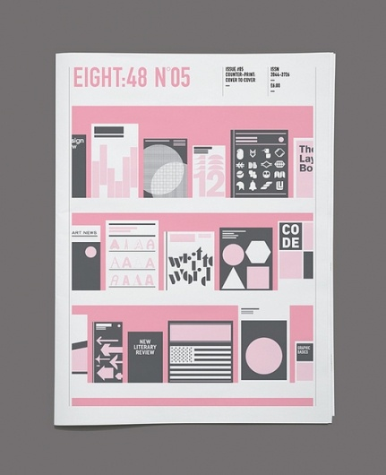 Designspiration — Eight:48 Issue 5, 'Counter-Print: Cover to Cover' | Flickr - Photo Sharing!