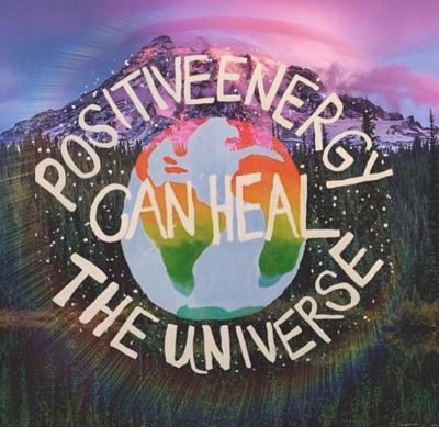 Positive Energy can heal the Universe Positive Energy Art