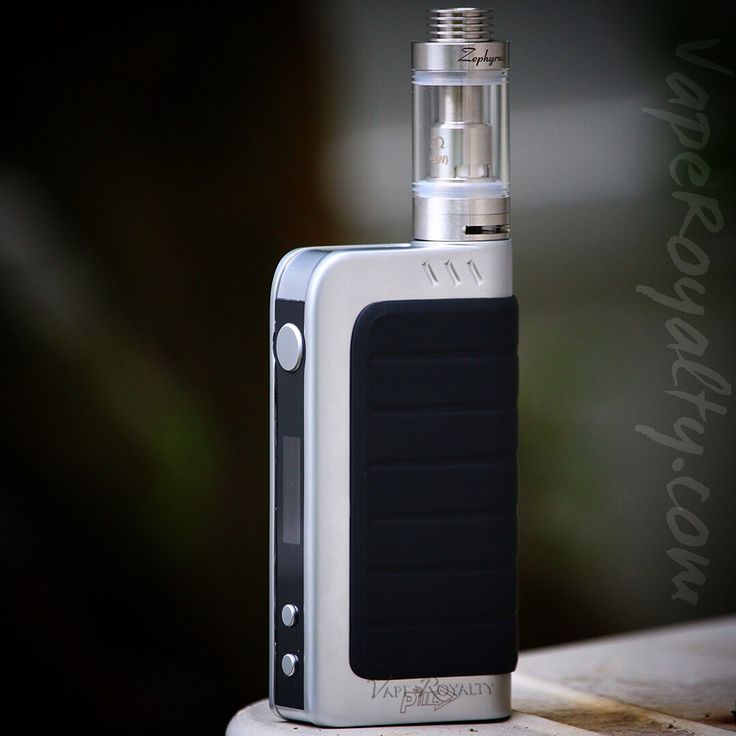 Today's setup...Silver Pioneer4You IPV4 Mod and UD Zephyrus Sub Ohm Tank. Both In Stock at - www.VapeRoyalty.com