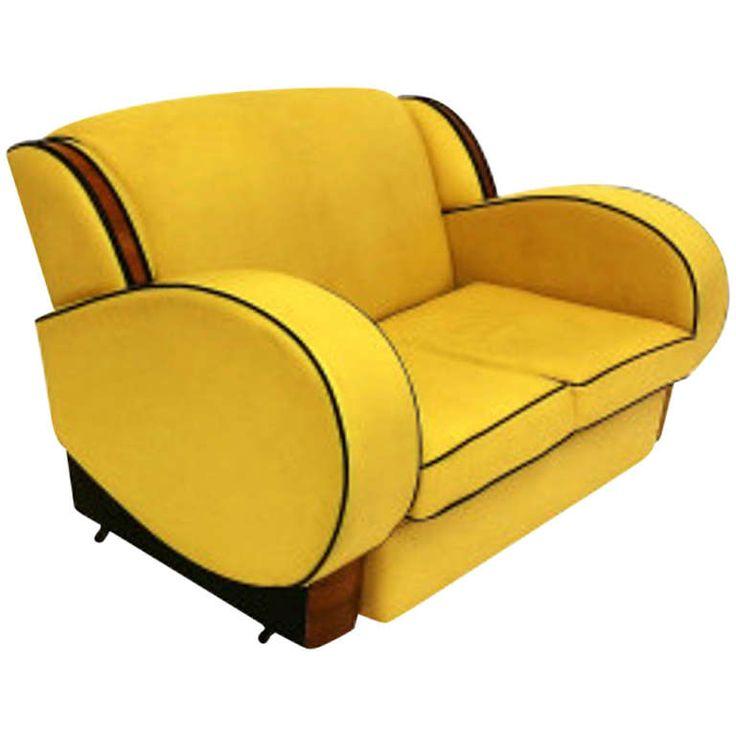 Art Deco Two Seater Sofa circa 1930