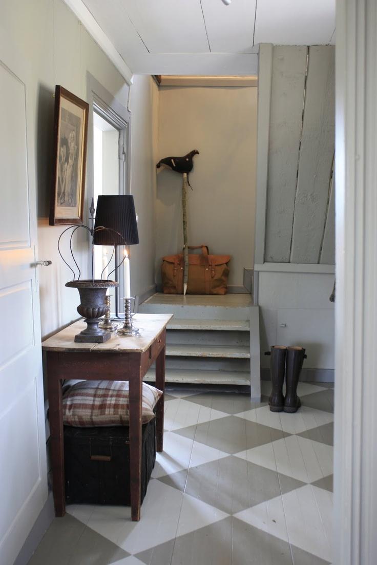 FloorDesign Ideas, Interiors Design, Floors Interiors, Painting Wood Floors, Painting Floors, Floors Design, Entrance Hall, Farmhouse Wonder, Painted Floors